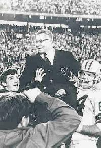 Green Bay Coach Vince Lombardi